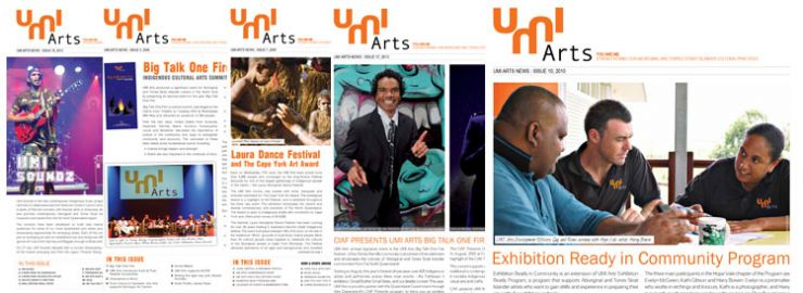 UMI Arts Newsletters